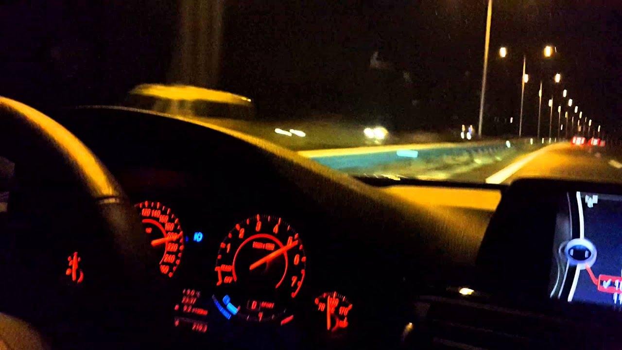 Bmw F30 320i 184 Hp Top Speed 242 Km Youtube