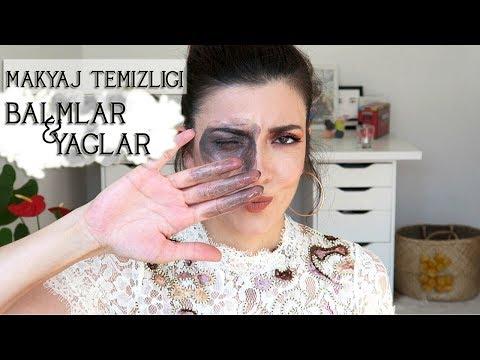 Temizleme Balmları ve Yağları ile Makyaj Temizliği, 6 Ürün Demosu  (DoubleCleansing) | Nihan Güzel