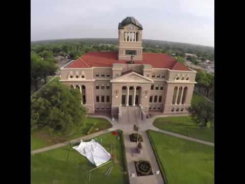 Navarro County Courthouse for Instagram