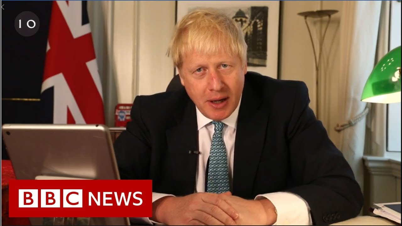 BBC News:Boris Johnson: Brexit opponents 'collaborating' with EU - BBC News