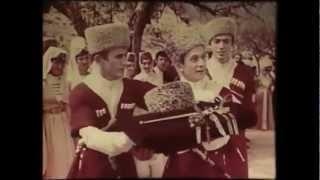 Гости из Чечни на осетинской свадьбе