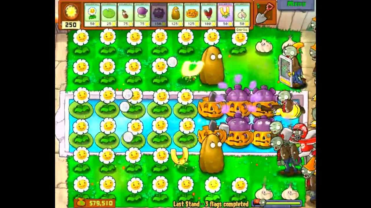 Plants vs zombies gold farming 9 slots