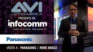 Visita a Panasonic durante  InfoComm Orlando 2019