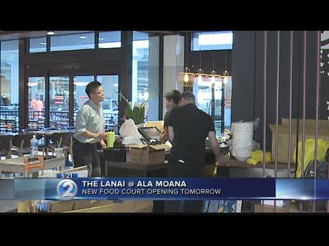 New 'Lanai' food court to open at Ala Moana Center