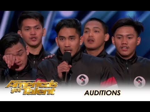 Junior New System: Filpino Dance Group SHOCK America With Their Skill! | Americas Got Talent 2018