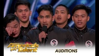 Junior New System: Filpino Dance Group SHOCK America With Their Skill! | America's Got Talent 2018