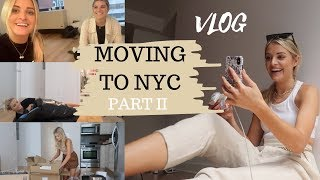GETTING SET UP IN MY NYC APARTMENT | Louise Cooney