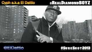 Diamond Boyz - Sure Shot 2013/DWYCK (Gang Starr and Nice & Smooth remake) H.U.S.H, Eazy & El Dattio