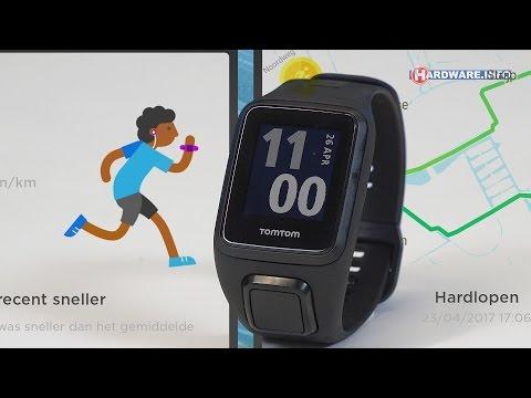 TomTom Spark 3 GPS sporthorloge review - Hardware.Info TV (4K UHD)