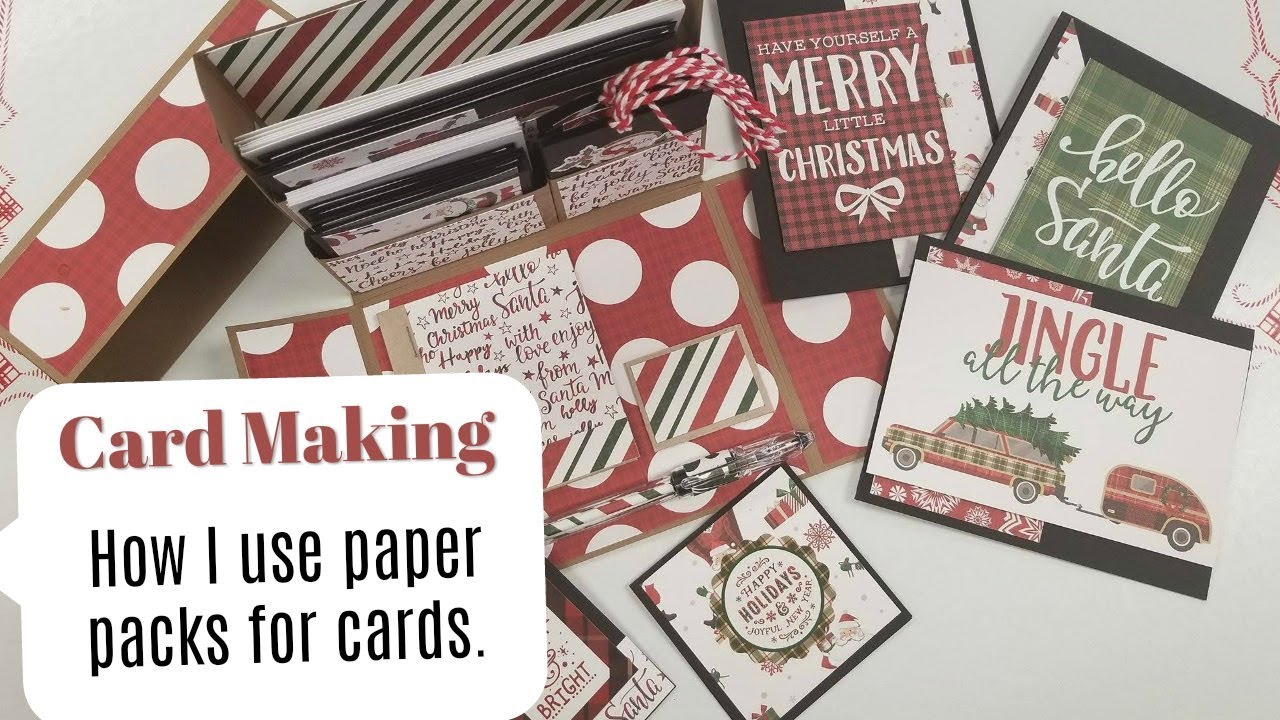 Amazing Paper Pads For Card Making Part - 9: Card Making Using Paper Pads To Make Cards, Notecards And Tags