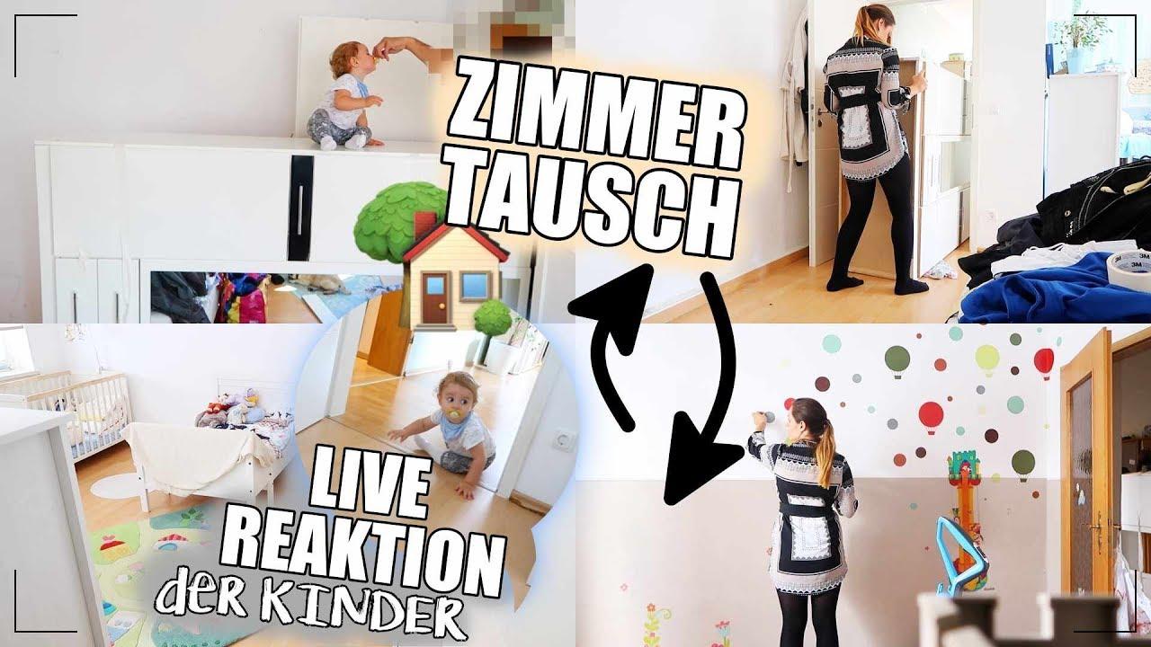 Kinderzimmer AUS- & UMRÄUMEN I Erste Nacht ZUSAMMEN 👬 I LIVE ...