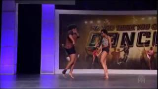 Sasha & Natalia Mallory SYTYCD (Las Vegas Callbacks Season 8)