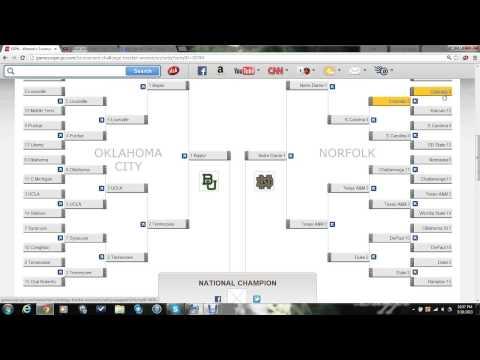 2013 NCAA Women's Basketball Tournament Bracket - Episode 3