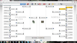 2013 NCAA Women's Basketball Tournament Bracket - Episode 3