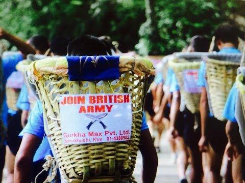 BRITISH ARMY SELECTION-DOKO RACE