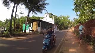деревня Арамболь Индия . случайная встреча