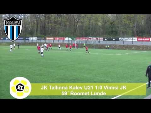 Esiliiga B XII voor: JK Tallinna Kalev U21 1:1 Viimsi JK