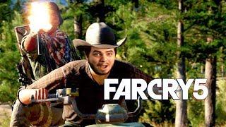 Мэддисон играет в Far Cry 5 - ОТКРОЙ БЛ#ТЬ ДВЕРЬ!!!!1111