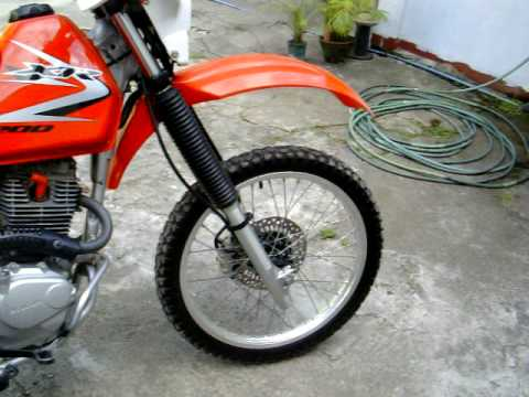 Honda xr200 model 2010 youtube