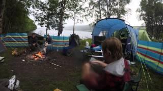 Loch Tummel Camping
