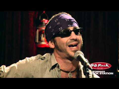 """Sully Erna """"Sinner's Prayer"""" live acoustic @ 98 Rock California's Rock Station"""
