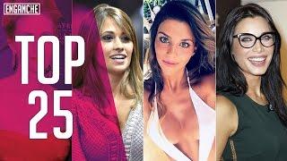 TOP 25 Novias Y Esposas Más Lindas De Los Futbolistas Más Famosos