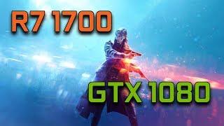 Battlefield V Closed Alpha | GTX 1080 G1 Gaming + Ryzen 7 1700 | 1080p Max Settings |