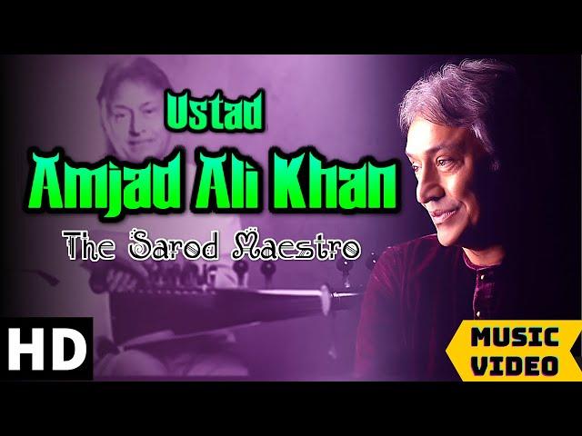 Ustad Amjad Ali Khan   The Sarod Maestro   Classical Instrumental - Sarod    Raag - Desh    Peaceful