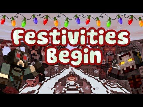 Minecraft - Festivities Begin