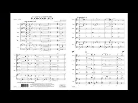 Such Good Luck (from Downton Abbey) by John Lunn/arr. Paul Lavender