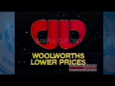 Tell a Friend About Woolies  - (TV Commercial ) Early 1980's