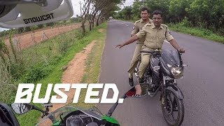 Took 36 hours to get pulled over in India