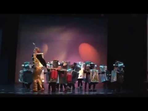 De Vonk Knokke 22-03-2015 schoolshow dans Romy
