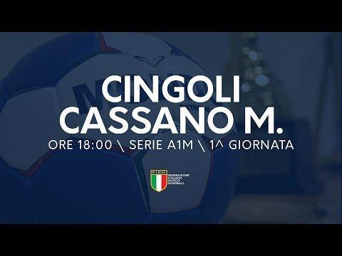 Serie A1M [1^ giornata]: Cingoli - Cassano Magnago 23-32