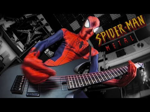 Spider-Man theme song (metal cover by Leo Moracchioli)