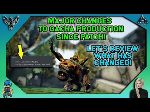 ARK: MAJOR CHANGES TO GACHA PRODUCTION SINCE PATCH - TESTING WHAT