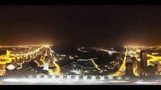 8K 360 Degree Timelapse of Dubai Marina