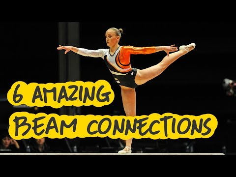 Gymnastics - 6 Amazing Balance Beam Connections