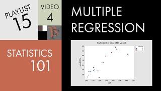 Statistics 101: Multiple Linear Regression, Dummy Variables