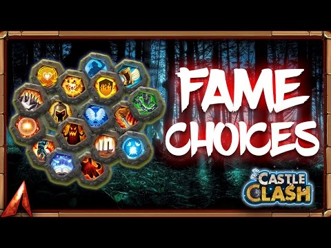 66k Fame Decisions! What To Do!? Castle Clash