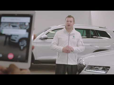 ŠKODA UK Live video chat: Whisbi One-to-many