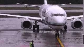 Alaska Air 76 Departs Juneau