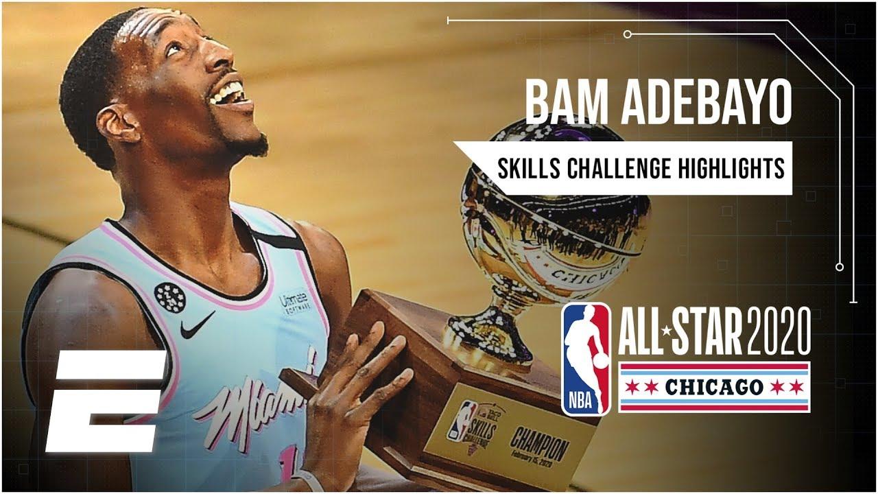 Heat's Bam Adebayo wins Skills Challenge