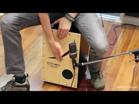 Roland El Cajon EC-10 Electronic Layered Cajon Review | Better Music