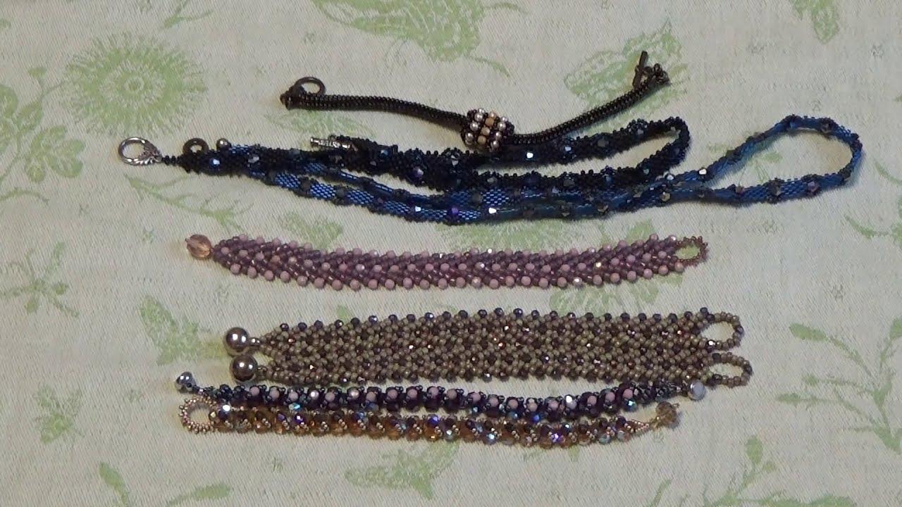 Украшения из бисера: браслеты, кольца, броши, серьги, бусы...