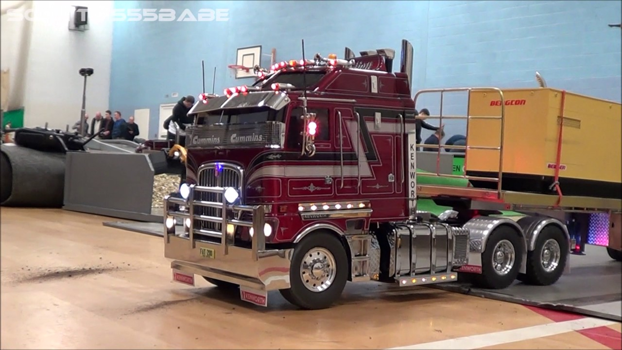 00029953 Peterbilt besides easternsurplus as well showhauler moreover Vintage Truck Based C er Trailers together with Watch. on custom built semi truck trailers