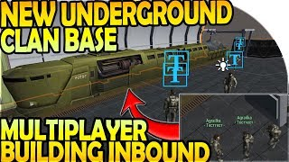 NEW UNDERGROUND CLAN BASE + MULTIPLAYER BUILDING INBOUND - Last Day on Earth Survival Update 1.9.9