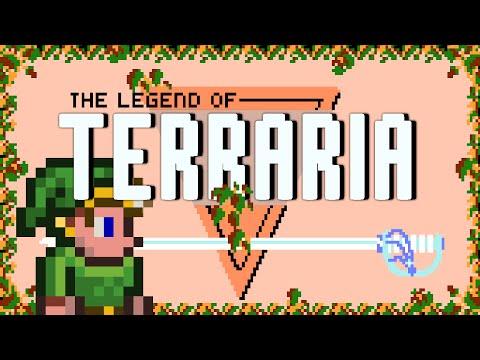 Terraria 1.3.1 - Legend of Terraria - Full Adventure Map!