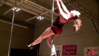 Bianca's 2011 Miss Georgia Pole Dance Competition 1st Place Performance Round