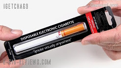 REVIEW OF THE GAMUCCI DISPOSABLE ELECTRONIC CIGARETTE